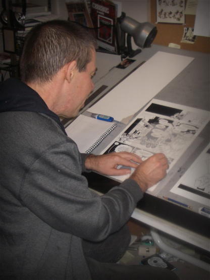 Dave Sim at Ultraist Studios